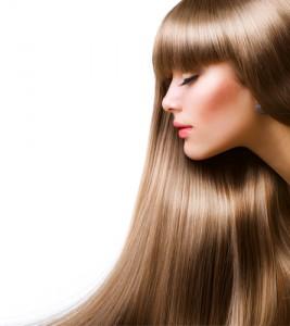 Glänzende Haare durch Kieselerde
