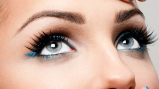 Graue Augen