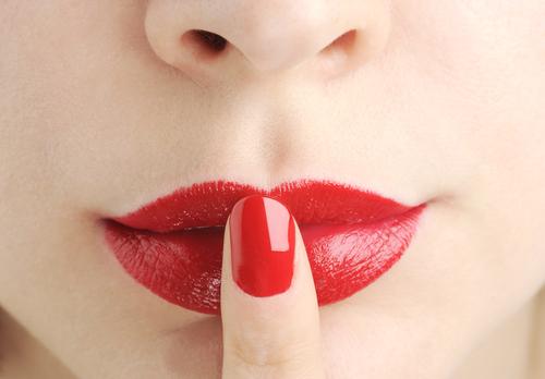 Pflegeleichte Lippen